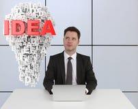 Ideenkonzept Stockbild