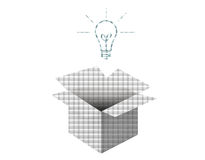 Ideenkonzept Stockbilder