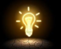 Ideenkonzept, vektorabbildung Stockfotos
