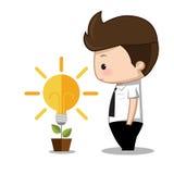 Ideenmanngeschäft Lizenzfreies Stockbild