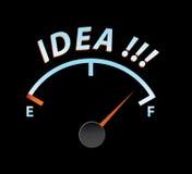 Ideenmeßinstrument lizenzfreie abbildung