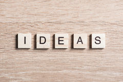 Ideenwort Stockbild