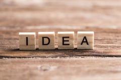Ideenwort Stockbilder