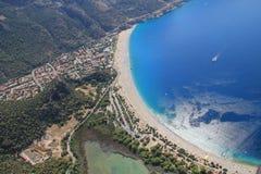 Praia de Fethiye fotografia de stock