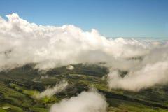 Ideia aérea da paisagem grande da ilha Imagens de Stock Royalty Free