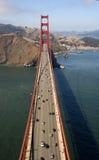 Ideia aérea da porta dourada   Imagem de Stock Royalty Free