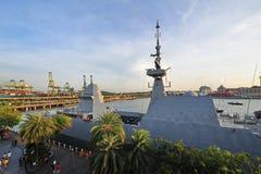 RSS intrépido na casa aberta 2013 da marinha imagem de stock royalty free