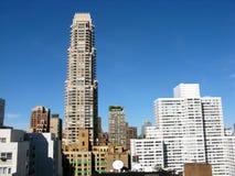 Ideia aérea da skyline de New York Fotografia de Stock