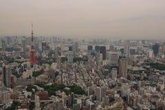 Ideia aérea da skyline do Tóquio Fotografia de Stock Royalty Free