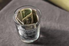 Ideia aérea de um planeamento de aposentação Foto de Stock