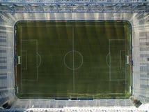 Ideia aérea do estádio de futebol do clube atlético do paranaense Baixada da Dinamarca da arena Curitiba, Parana Em julho de 2017 Foto de Stock