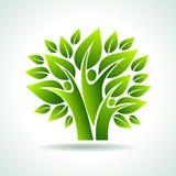 Ideia ambiental com natureza Foto de Stock
