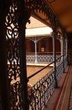 Ideia bonita das fabricações de aço do vintage no palácio de bangalore foto de stock royalty free
