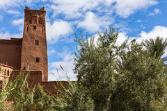 Ideia bonita do kasbah AIT ben Haddou em Marrocos Imagens de Stock Royalty Free