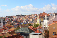 Ideia da arquitetura da cidade de Lisboa foto de stock royalty free