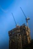 Ideia da construção da construção residencial do multi-andar condo fotos de stock