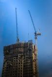 Ideia da construção da construção residencial do multi-andar condo imagem de stock royalty free