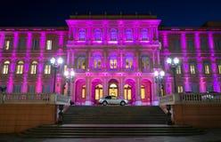 Casa cor-de-rosa de Argentina Foto de Stock