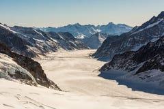 Ideia da estância de esqui Jungfrau Wengen em Suíça fotografia de stock