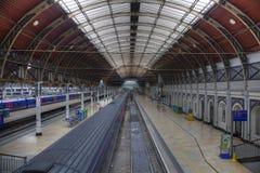 Ideia da estação de comboio imagens de stock royalty free