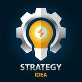 Ideia da estratégia Fotografia de Stock Royalty Free