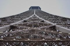 Ideia da excursão Eiffel, Paris, França fotografia de stock royalty free