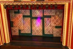 Ideia da fase do teatro Imagem de Stock Royalty Free