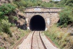 Ideia da linha railway ponte de Paquistão nenhuma: 4 de Jahangira fizeram perto Fotos de Stock