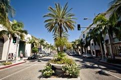 Ideia da movimentação do rodeio em Los Angeles Imagens de Stock Royalty Free