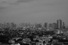 A ideia da paisagem da cidade em Banguecoque Tailândia foto de stock