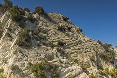 Ideia da paisagem de Sithonia, Chalkidiki, Sithonia, Macedônia central Imagens de Stock Royalty Free