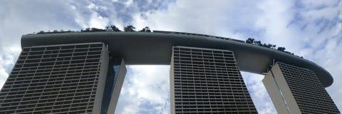 Ideia da parte superior de Marina Bay Sands Imagens de Stock