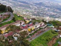 Ideia da plataforma de Cabo Girao em Madeira Foto de Stock