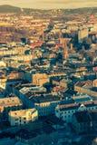 A ideia da skyline da cidade Imagens de Stock Royalty Free