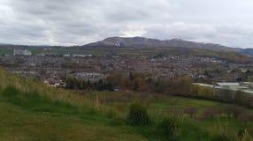 Ideia da skyline da cidade de Edimburgo Fotografia de Stock