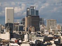 Ideia da skyline de madrid Imagem de Stock