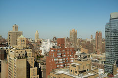 Ideia da skyline de New York City da zona leste superior Fotos de Stock