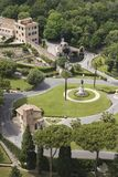 Ideia das terras em Roma, Italy. Imagem de Stock