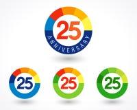ideia de 25 números ilustração do vetor
