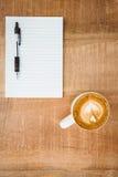Ideia de um coração composto do café Fotografia de Stock