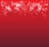Ideia de um fundo do cartão do dia de Valentim ilustração stock