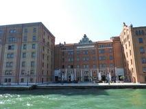 Ideia de Veneza, de It?lia e de sua outra arquitetura do canal grande, dia claro imagens de stock royalty free