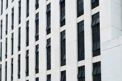 Ideia do close-up da vitrificação da fachada fotos de stock royalty free