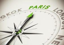 Ideia do destino do curso - Paris Fotografia de Stock Royalty Free
