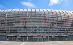Ideia do estádio de futebol novo de Pierre Mauroy Fotos de Stock Royalty Free