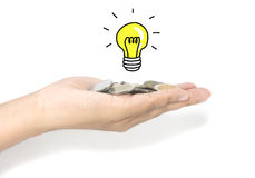 Ideia do investimento Foto de Stock