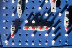 Ideia do jogo do cruzador de batalha Fotografia de Stock Royalty Free