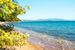 Ideia do litoral do mar Imagem de Stock