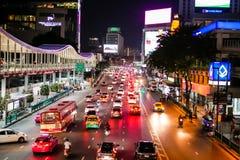 Ideia do mercado de Pratunam, o mercado o maior da cidade para o cl de compra fotos de stock royalty free