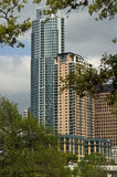 Ideia do olho da fuga da skyline nova de Austin Foto de Stock Royalty Free